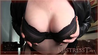 Mistress T - ruin your orgasm after chastity releasel