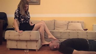 Lady Gabriella - Professor Underfoot - EXTREME Foot Domination