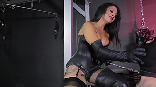 CybillTroy - Femdom - Tangents Leather Boot Bust