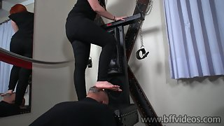 Bffvideo - melissared foot domination Part 3