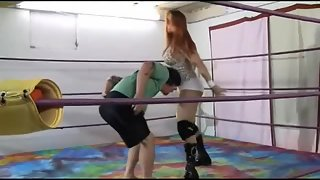 IronBelles - AprilHunter - Tampa Fires Ringside Domination