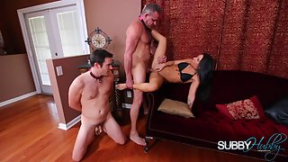 Alissa Dominates The Family Part 3 - Fucking StepDaddy - Alissa Avni