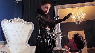 CybillTroy - FemDom Anti-Sex League - Backhanded Bitch-Boy