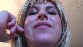 FemdomArmy - POV - Jackie spits in your face