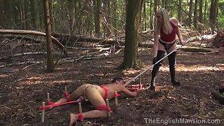 Woodland Arse Abuse