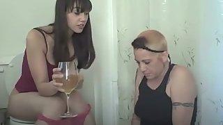 Peedom - Lesbian Pee Drinker