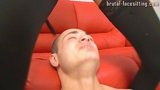 Brutal-Facesitting - Kristina