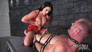 FemdomEmpire - Angela White - Cock Cum Guzzler
