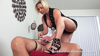 Goddess Brianna - Immobilized and Vulnerable