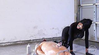KinkyMistresses - Dirty, Kinky Fun In The Garage